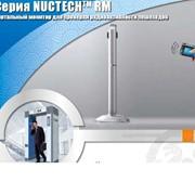 Портальный монитор для проверки радиоактивности пешеходов фото