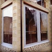 Mягкие окна для беседки, веранды, террасы фото