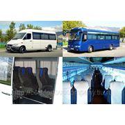 Трансфер автобусами 8-37 мест в Новороссийске и Краснодарском крае фото