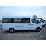 Аренда автобуса для перевозки рабочих фото