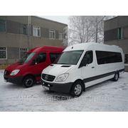 Заказ микроавтобусов Mercedes фото