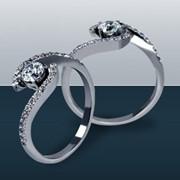 Кольца для помолвки арт.K1113 фото