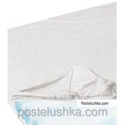 Простынь на резинке Zastelli джерси 100*200+25см Белый фото