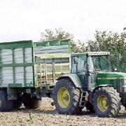 Прицеп для перевозки зеленой массы сенажа ANNABURGER фото