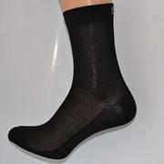 Носки в сеточку черные фото