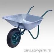 Тачка сад. (однокол, гр. 80 кг, 85 л, вес 8.7 кг) 457P Belamos фото