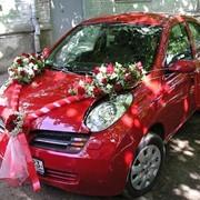 Украшение свадебного автомобиля фото