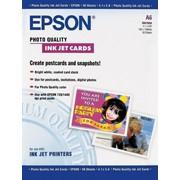 Бумага epson Photo Quality Ink Jet Index Card A6 фото