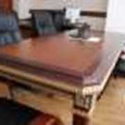 Изготовление деревянной стильной мебели на заказ фото