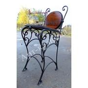 Стул кованый для бара, кованая мебель, мебель для дома, мебель для ресторана фото