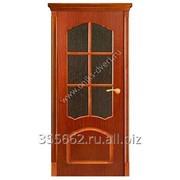 Межкомнатная дверь Диана (красное дерево) фото