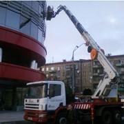Услуги автовышки, работаем по Киеву и Киевской области фото