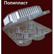 Пластиковый контейнер для продуктов питания ПК-10/4 фото
