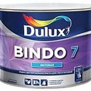 Латексная краска для стен и потолков Bindo Dulux 7 10L фото