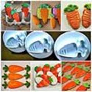 """Кондитерский плунжер """"Морковь"""", в наборе 3 шт фото"""