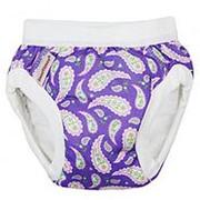 Трусики для приучения к горшку L 9-12 kg, purple paisley фото
