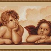 Вышивка Ангелочки фото