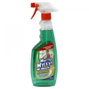 Средство Мистер Мускул для стекла с распылителем 500мл зеленый фото