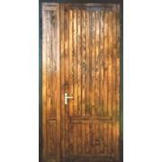 Металлические двери отделка вагонка фото