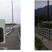 Радар скорости открытый Driver дорожный знак обратная связь фото