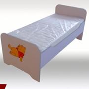 Дитяче ліжко з ДСП фото