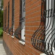 Решетка декоративная из металла 3 фото