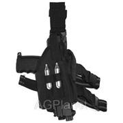 Кобура набедренная для пистолета TPX, черная фото