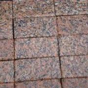 Тротуарная плитка гранитная фото