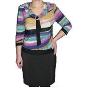 Блузка Трикотаж № 405 оптовая цена 400 руб. фото