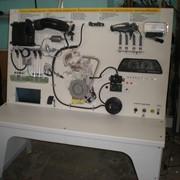 Лабораторный стенд «Система впрыска бензинового топлива двигателя автомобиля» фото