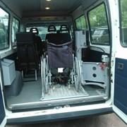 Такси для инвалидов фото
