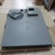 Весы платформенные от 1000 до 3000 кг фото