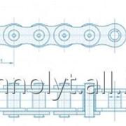 Цепи приводные однорядные втулочные ПВ фото
