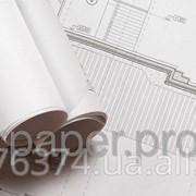 """Бумага инженерная для плоттера 80г/кв.м. 1372мм (54"""") х 50м фото"""