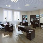 Комплект офисной мебели Сокол П К1 Венге фото