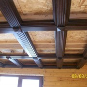Декоративная отделка потолка