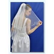 """Свадебная фата """"Лилии"""". фото"""