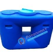 Емкость (бочка, бак, резервуар) пластиковая 500 л фото