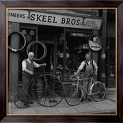 Картина Велосипед ремонтников, Неизвестен фото