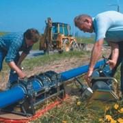 Монтаж полипропиленовых канализационных труб фото