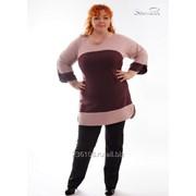 Туника 1686 Розовый цвет фото