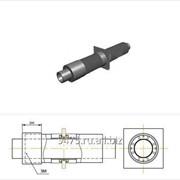 Опора неподвижная диэлектрическая стальная в полиэтиленовой трубе-оболочке с металлической заглушкой изоляции d=820 мм, s=9 мм, L=210 мм фото