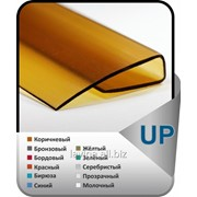 UP-профиль торцевой для сотового поликарбоната, длина: 2,1 м, толщина 4 мм фото