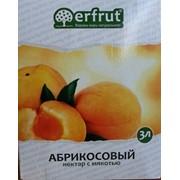 Абрикосовый нектар 40%, ERFRUT, прямой отжим фото