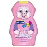 On Line kids шампунь + пена для ванн лимонад, 250 мл фото