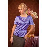 Блузка из натурального шелка 1136 фото