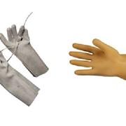 Перчатки диэлектрические фото