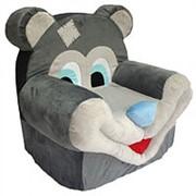 Кресло Медведь с заплатками /65 см/ фото