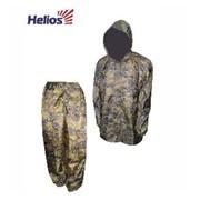 Костюм ветровлагозащитный Походный Helios р.58 цв. КМФ цифра фото