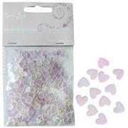 Конфетти перламутровое Сердца розовое ассорти 14гр фото